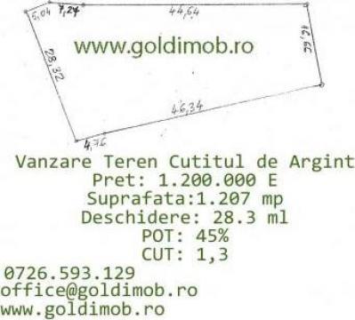 Teren Cutitul de Argint, Bucuresti de la Gold Imob Grup