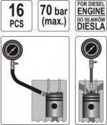 Tester compresie diesel de la Teom Tech Srl