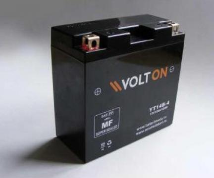 Acumulator moto VOLTON Factory Activated 12 V 12 Ah de la Vesna Gc Srl