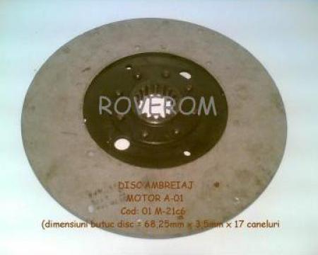 Disc ambreiaj (400mm/17 caneluri) motor A-01 de la Roverom Srl
