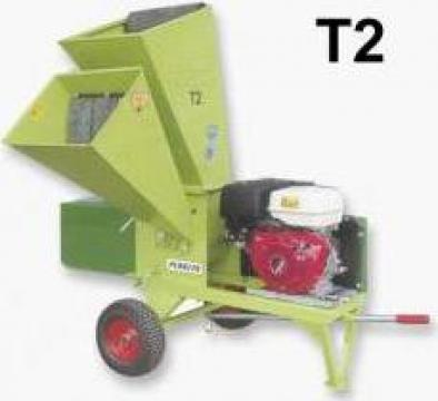 Tocator resturi vegetale T2 - motor Honda de la APF Trade Srl