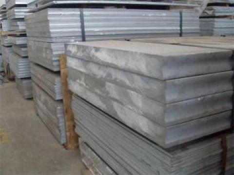 Tabla aluminiu - duraluminiu 10x1000x2000 mm, 5754, AlMg3