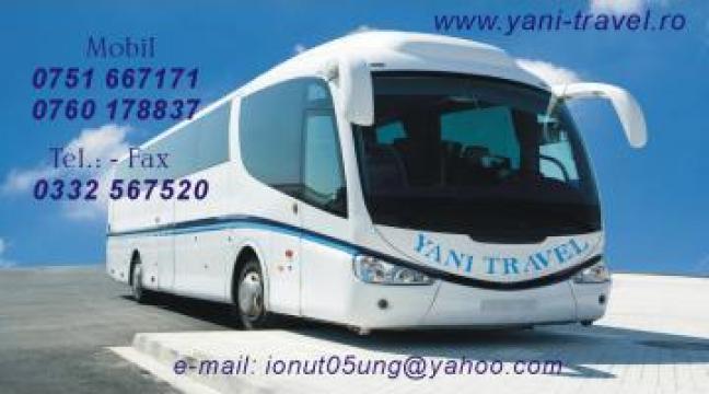 Bilete de autocar Bucuresti Anglia de la Yani Travel SRL