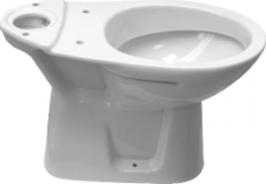Vas toaleta WC Simplu Neo Roca DB (Evac Verticala) de la Baza Tehnica Alfa Srl