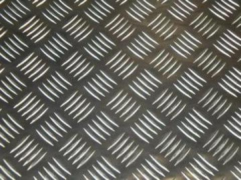 Tabla aluminiu striata Quintett 1.5x1250x2500mm de la MRG Stainless Group Srl