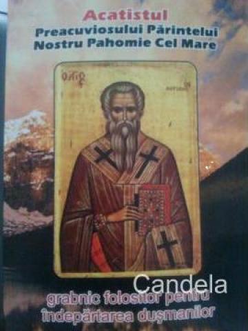 Carte, Acatistul Preacuviosului Parintelui nostru Pahomie de la Candela Criscom Srl.