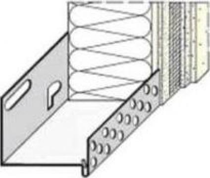 Profil soclu din aluminiu - Caparol Sockelschiene de la DWR Ari Solutions Srl