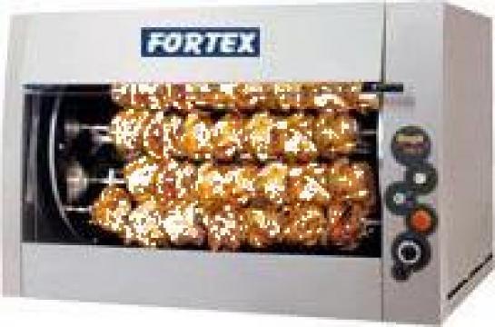 Rotisor planetar gaz cu 12+6 tepuse, 126 pui 485022 de la Fortex