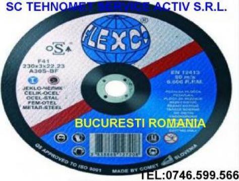 Disc abraziv Flexco Slovacia de la Tehnomet Grup Srl.