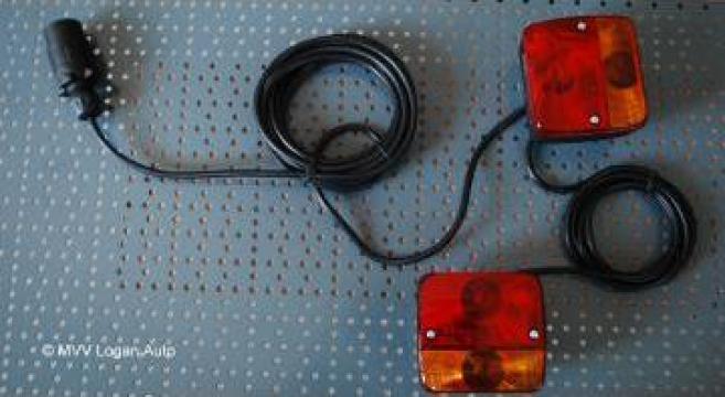 Instalatie electrica cu lampi magnetice de la Mvv Logan Auto Srl