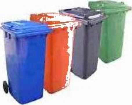 Containere din material plastic de 660, 770 si 1100 litri de la Electrotools