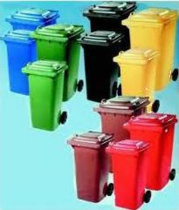 Pubele din material plastic de 120 si 240 litri de la Electrofrane