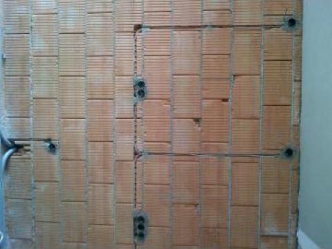 Instalatie electrica pentru case la rosu de la Electrician Bucuresti
