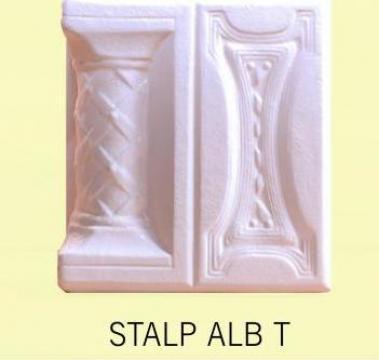 Cahle Stalp + placa soba Alb T de la Fancris Srl