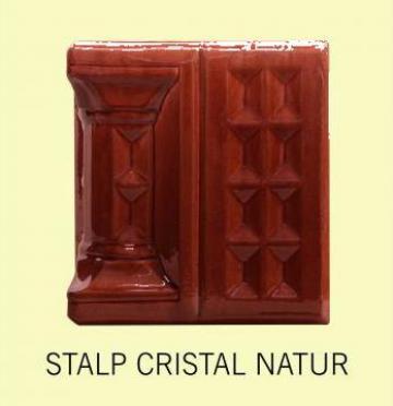 Cahle teracota Stalp + placa Cristal Natur de la Fancris Srl