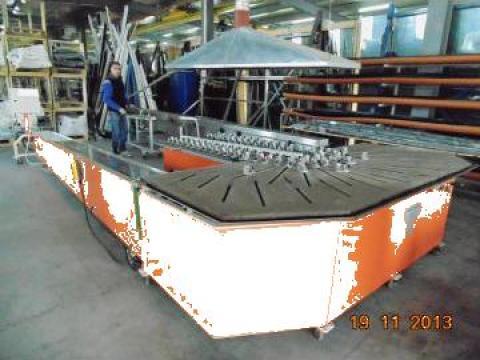 Masina de curbat profile PVC de la Win Impex