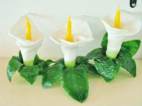 Lumanari sculptate si modelate manual de la Dali Creative Candles
