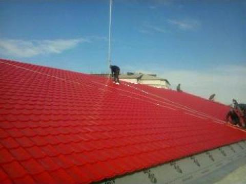 Montare acoperisuri metalice si ferestre de mansarda de la Steel System Construct 2012 Srl