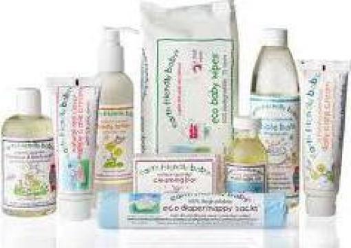 Cosmetice bio copii Earth Friendly Baby de la Farmacia Diana Srl