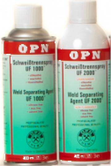 Spray antistropi pentru sudura de la Technic Trial Srl.