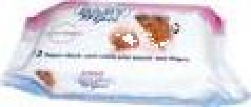 Servetele umede Sano Baby Wipes 72 / pac de la G & G Paper Srl