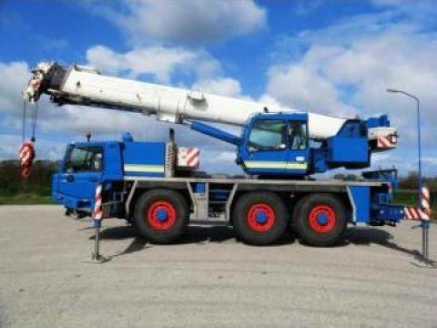Inchiriere utilaje de ridicat, automacarale 18 tone de la Dimcea - Crane Impex