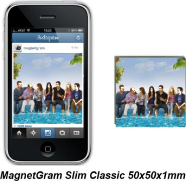 Magnet de frigider personalizat MagnetGram de la Rzr Sharp Group Srl