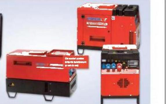 Generator electric Diesel 5,5 kw Endress, motor Yanmar de la Rocast Srl