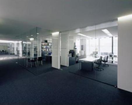 Compartimentare birouri din sticla securizata de la Zmeu Glass Srl