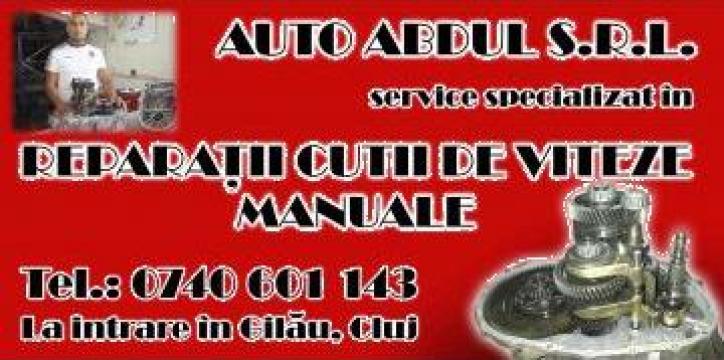 Reparatii cutii viteza manuale Abdul de la Auto Abdul Srl.