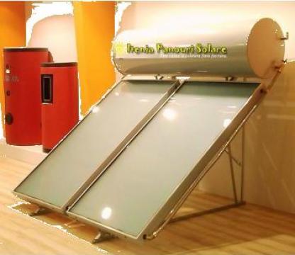 Boiler solar bivalent 120 litri de la Oltenia Panouri Solare