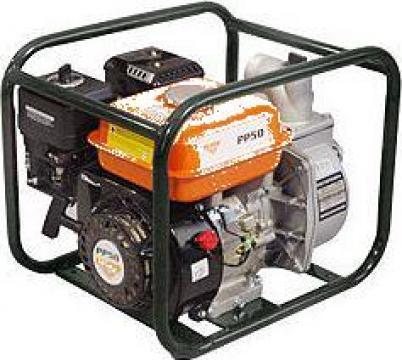 Motopompa PP50, Motor Kama, 4 timpi Putere motor - 5,5 CP de la Ivagro Srl