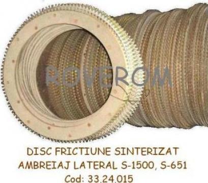 Disc sinterizat ambreiaj lateral S-1500, S-651