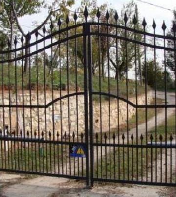 Lucrari din fier forjat - gard, porti, balustrada