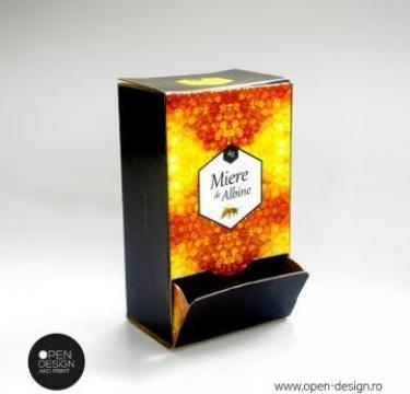 Cutie de carton pentru miere, zahar de la Open Design&Print