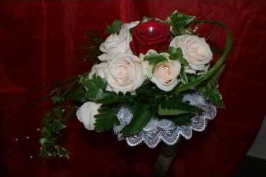 Buchet de mireasa de la Floraria Stil