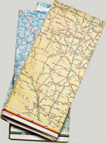 Harta pliata de buzunar de la Sian Image Media Srl