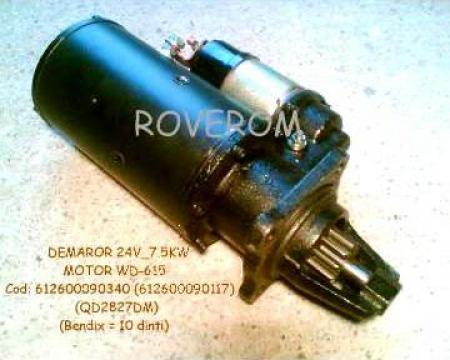 Demaror Weichai WD615G.220, XCMG ZL50G, YTOZL50F, CDM855