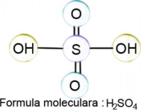 Acid sulfuric 94-96 % p.a. - 5 litri