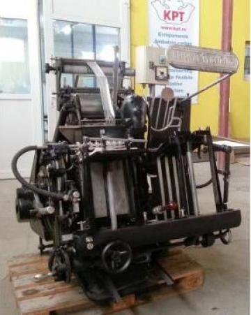 Masina de stantat Heidelberg Tigel + Folio la cald de la Kronstadt Papier Technik Sa