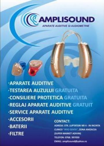 Aparate auditive de la Amplisound Srl