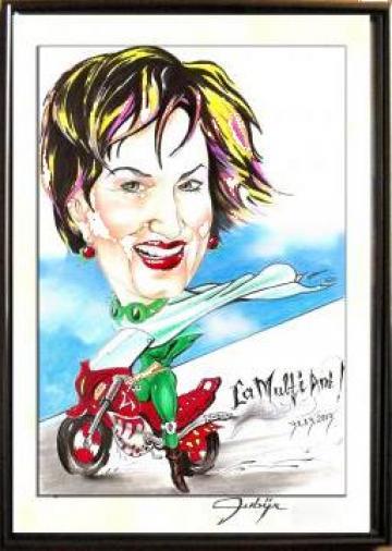 Portret Caricatura de la