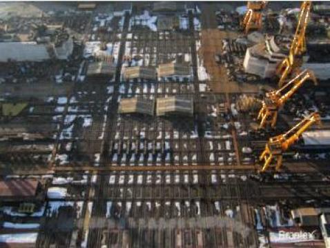 Fotografii aeriene - spatii industriale