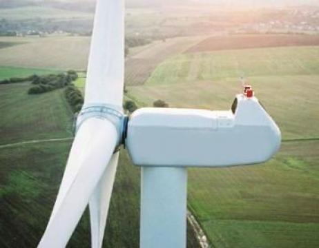 Fotografii aeriene - parcuri eoliene de la Brantax Srl