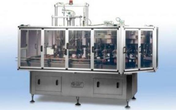 Grup automatic pentru dozare si umplere, rotativ DVR8/RRD20