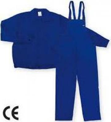 Pantalon cu pieptar si bluza de lucru de la Util Machine Srl