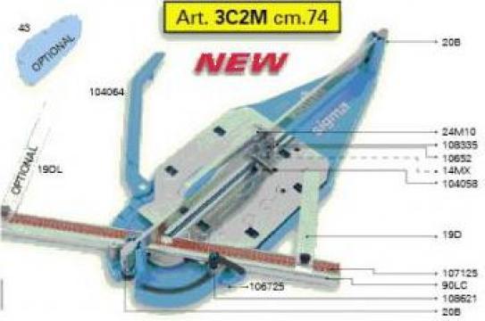 Masina taiat faianta si gresie Sigma 3 Max 72.5 cm 3 C3M de la Mgm Distributie Srl