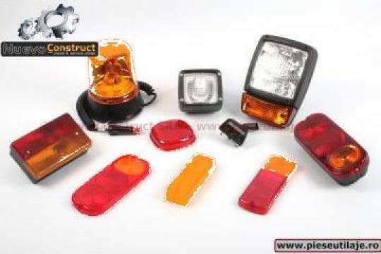 Set electrice iluminat utilaje JCB