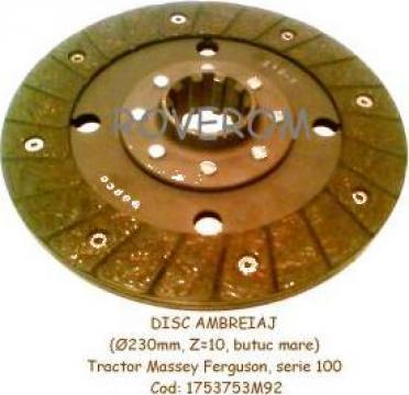 Disc ambreiaj (D=228,6mm, Z=10) tractor Massey Ferguson