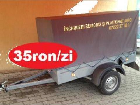 Inchiriere remorca 750kg de la Trolii-auto.ro